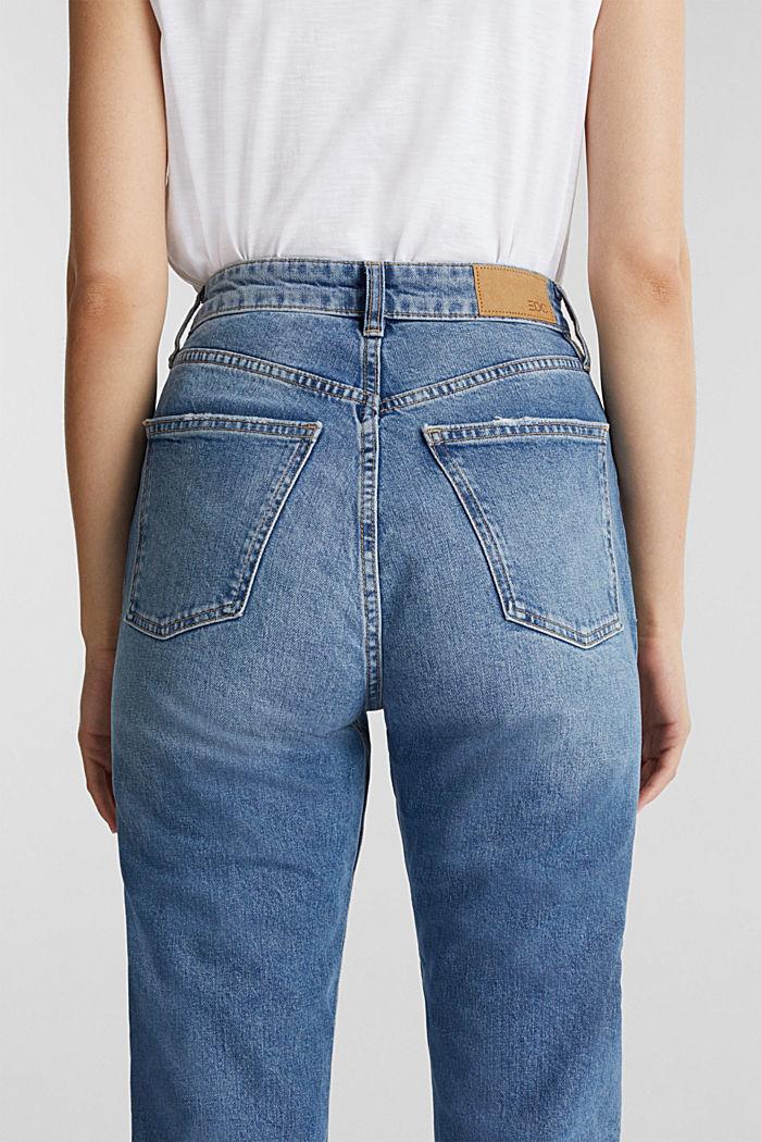 Jeans im Washed-Look, BLUE MEDIUM WASHED, detail image number 6