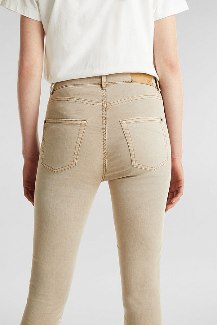 Knöchellange Stretch-Pants, KHAKI BEIGE, detail image number 5