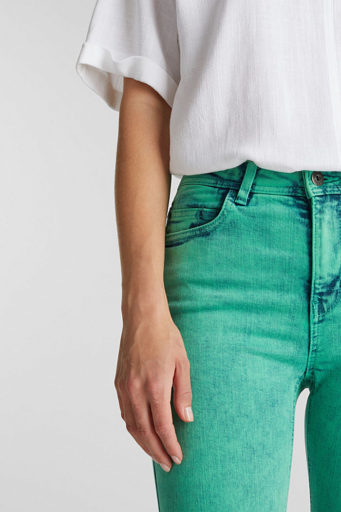 Skinny Stretch-Jeans, GREEN, detail image number 2