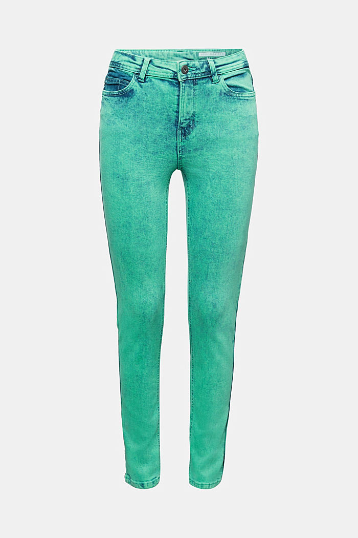 Skinny Stretch-Jeans, GREEN, detail image number 6