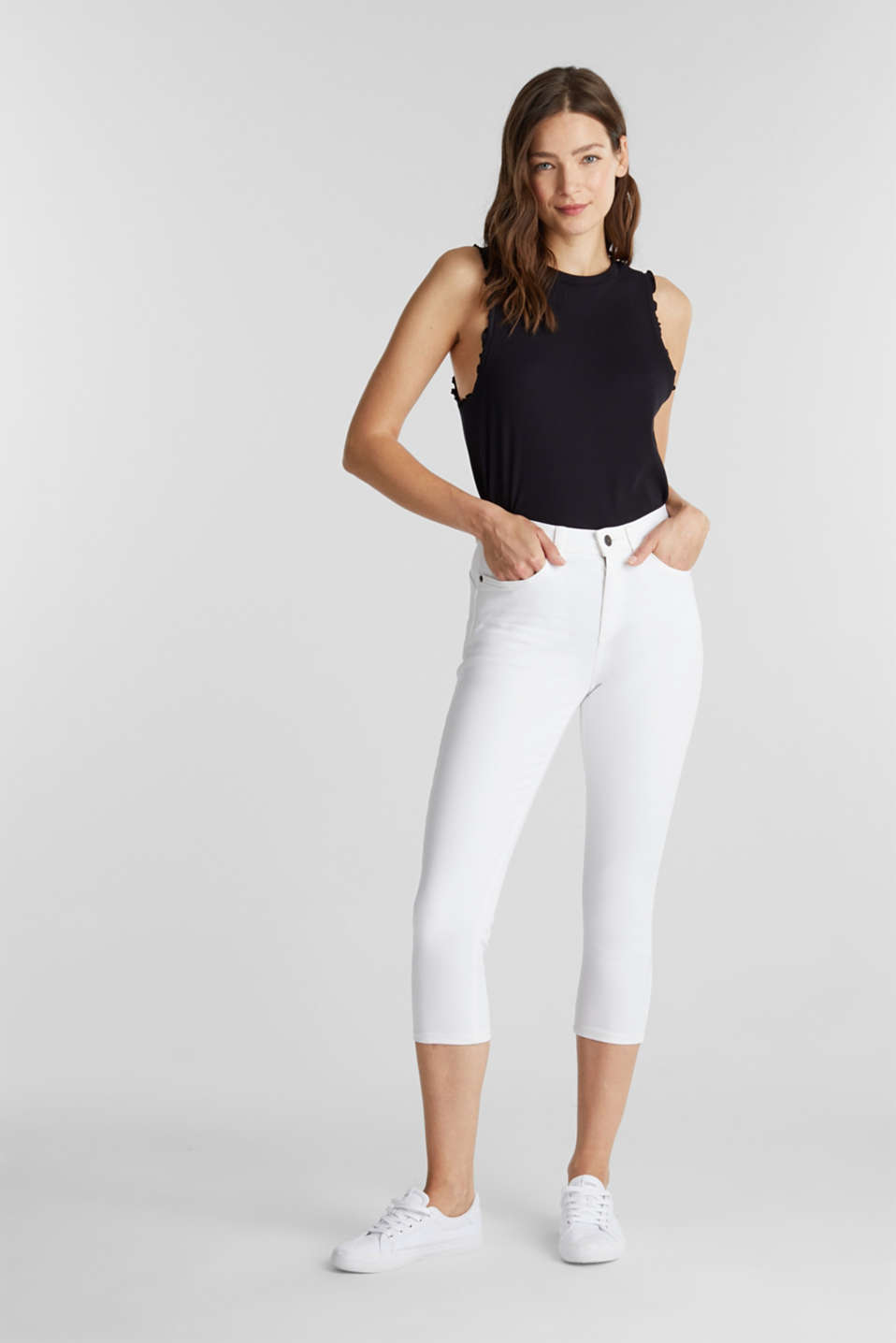 edc - Super stretch capri trousers