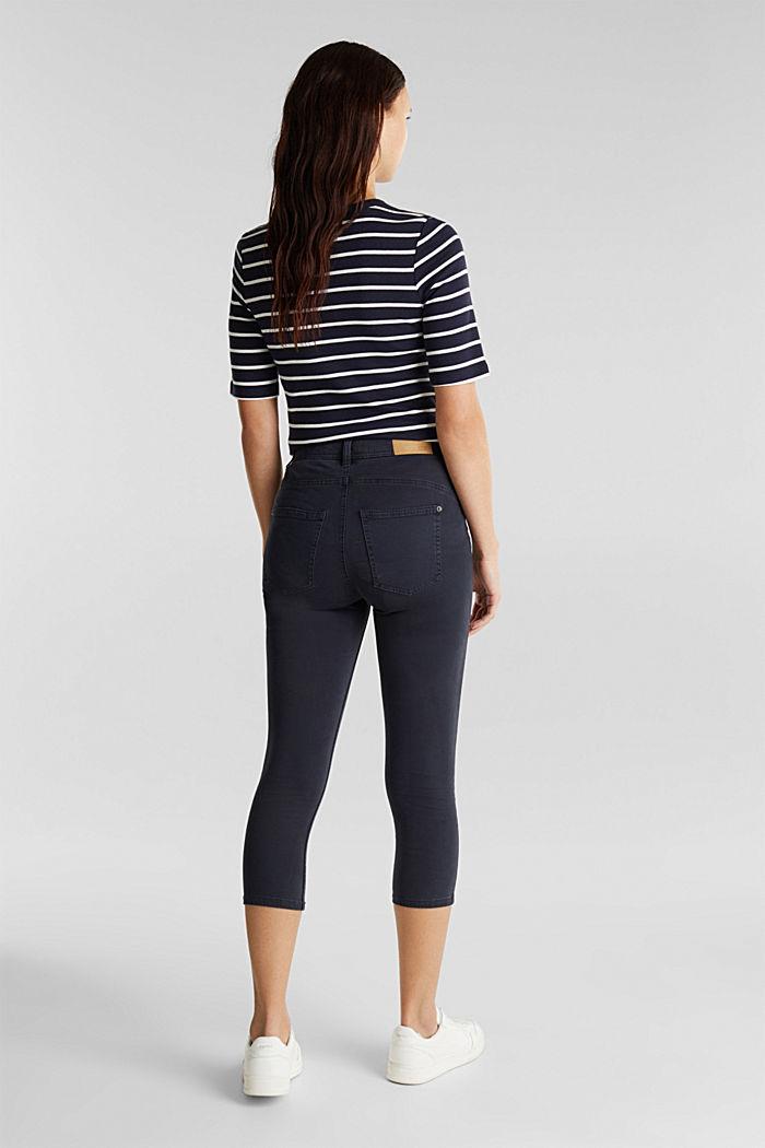 Pantalon corsaire super stretch, NAVY, detail image number 3