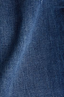 Ankle-length jeans with a vintage finish, BLUE MEDIUM WASH, detail