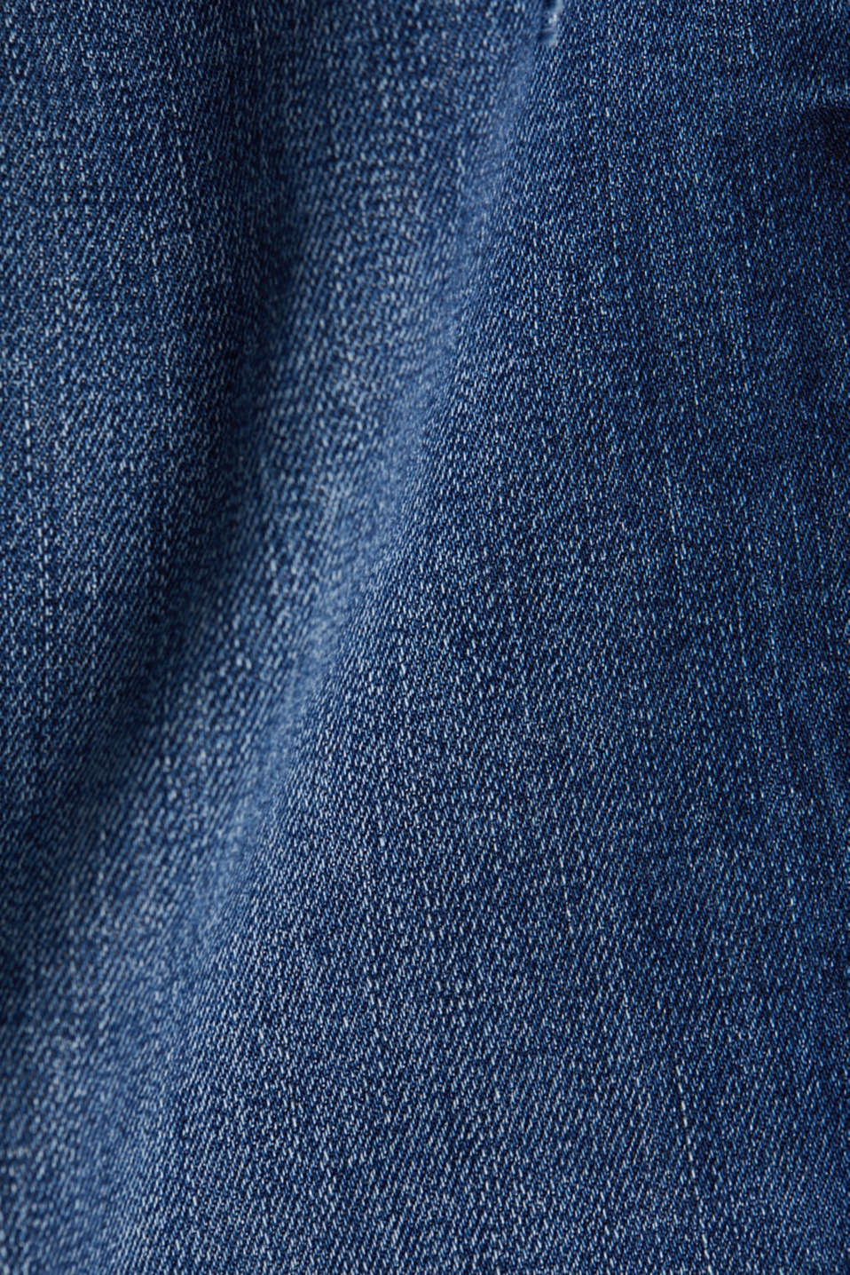 Ankle-length jeans with a vintage finish, BLUE MEDIUM WASH, detail image number 4