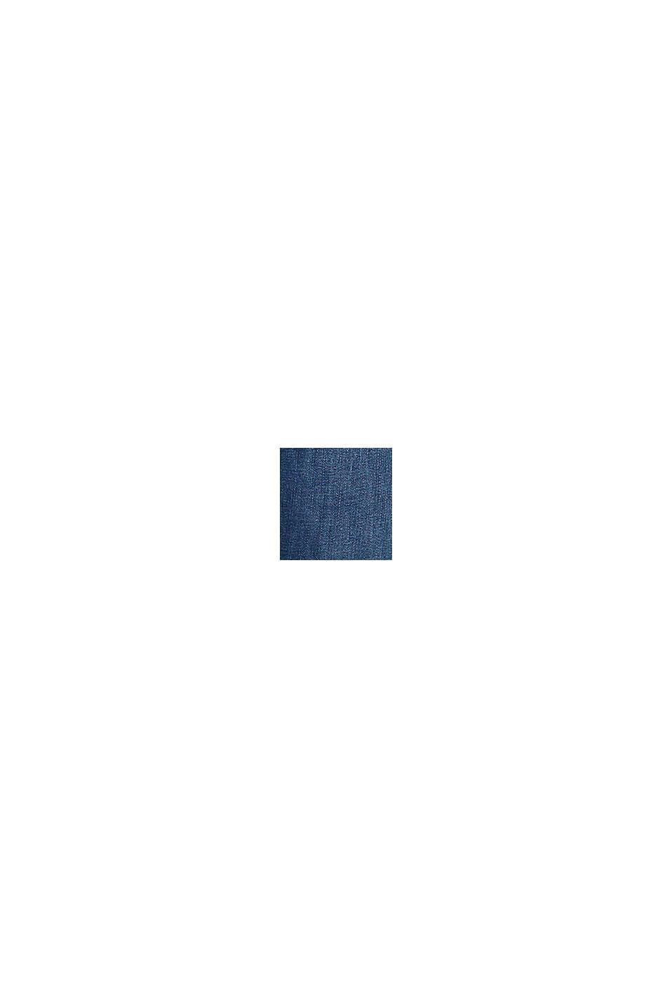 Nilkkapituiset farkut, joissa kulutustehosteet, BLUE MEDIUM WASHED, swatch