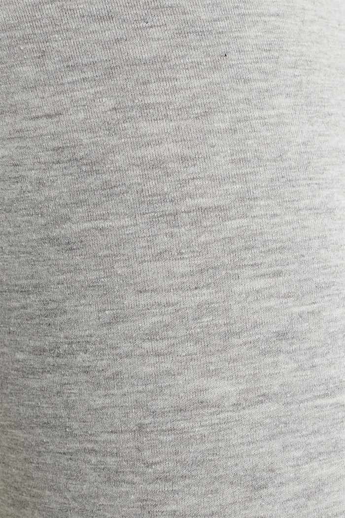 Opaque capri leggings, LIGHT GREY, detail image number 4