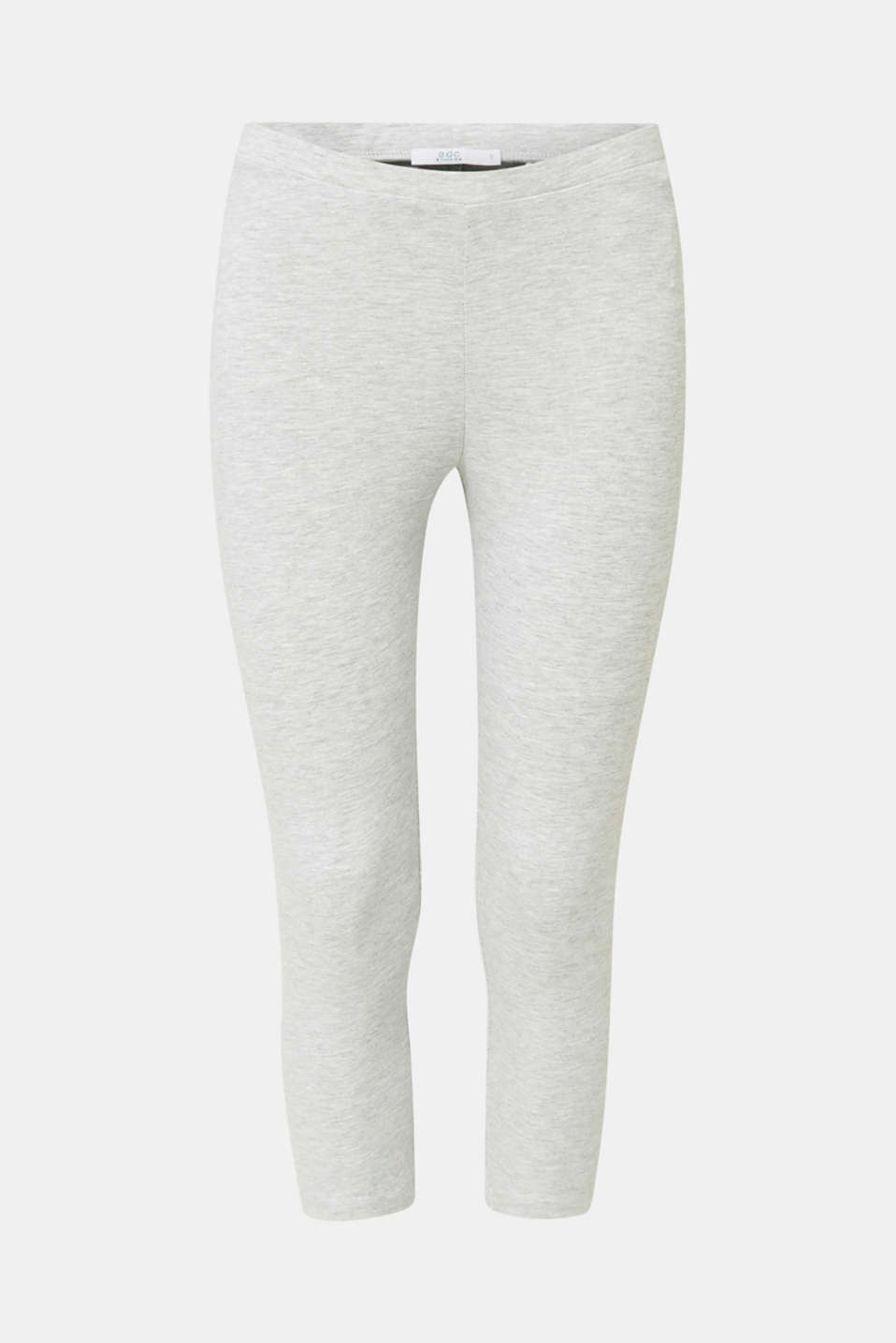 Opaque capri leggings, LIGHT GREY 5, detail image number 6
