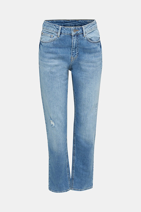 Jeans with vintage details