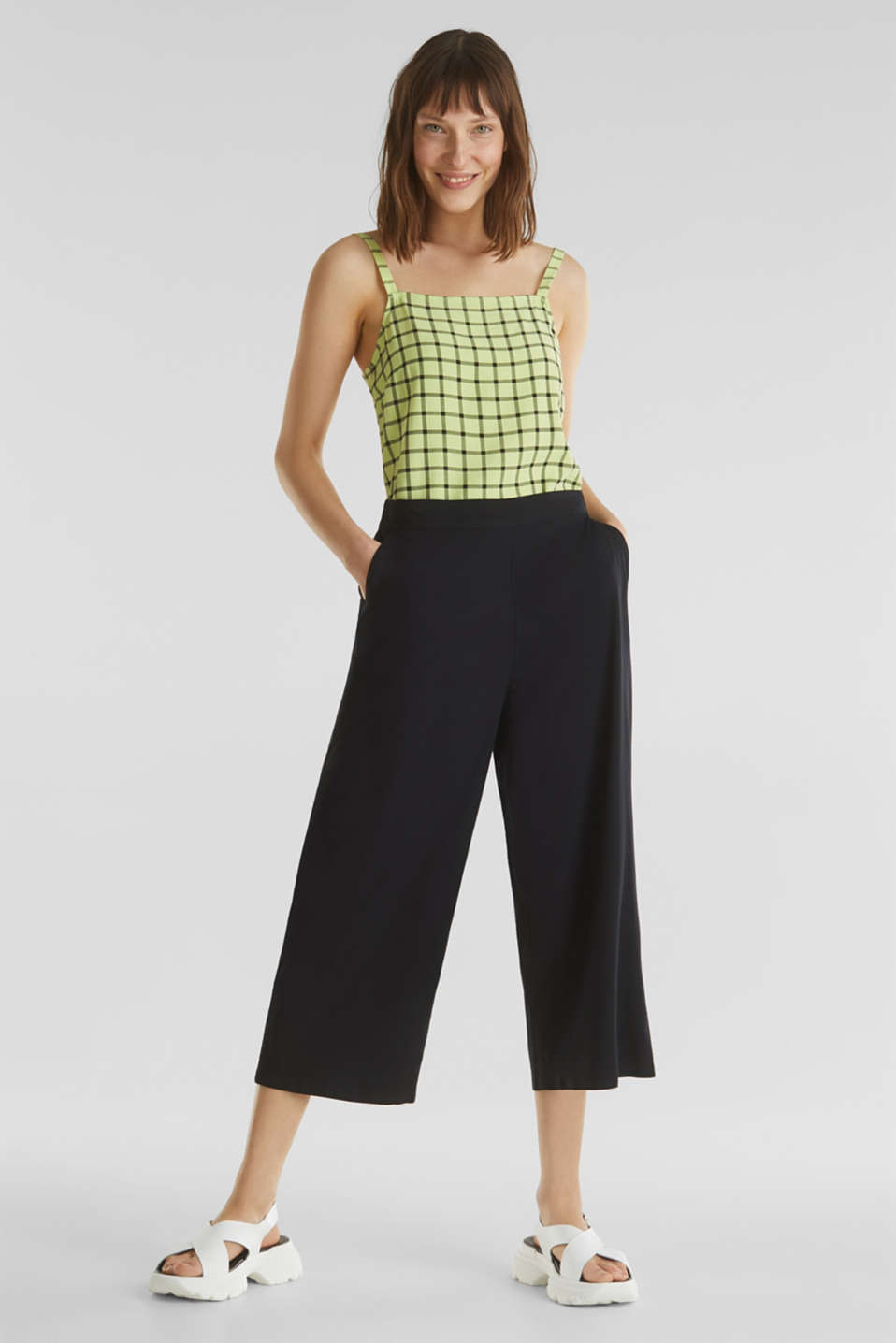 edc - Culottes with an elasticated waistband