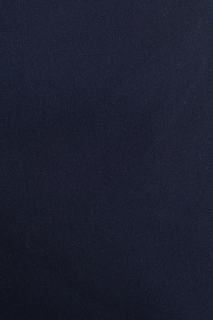 Culottes with an elasticated waistband, NAVY, detail image number 4