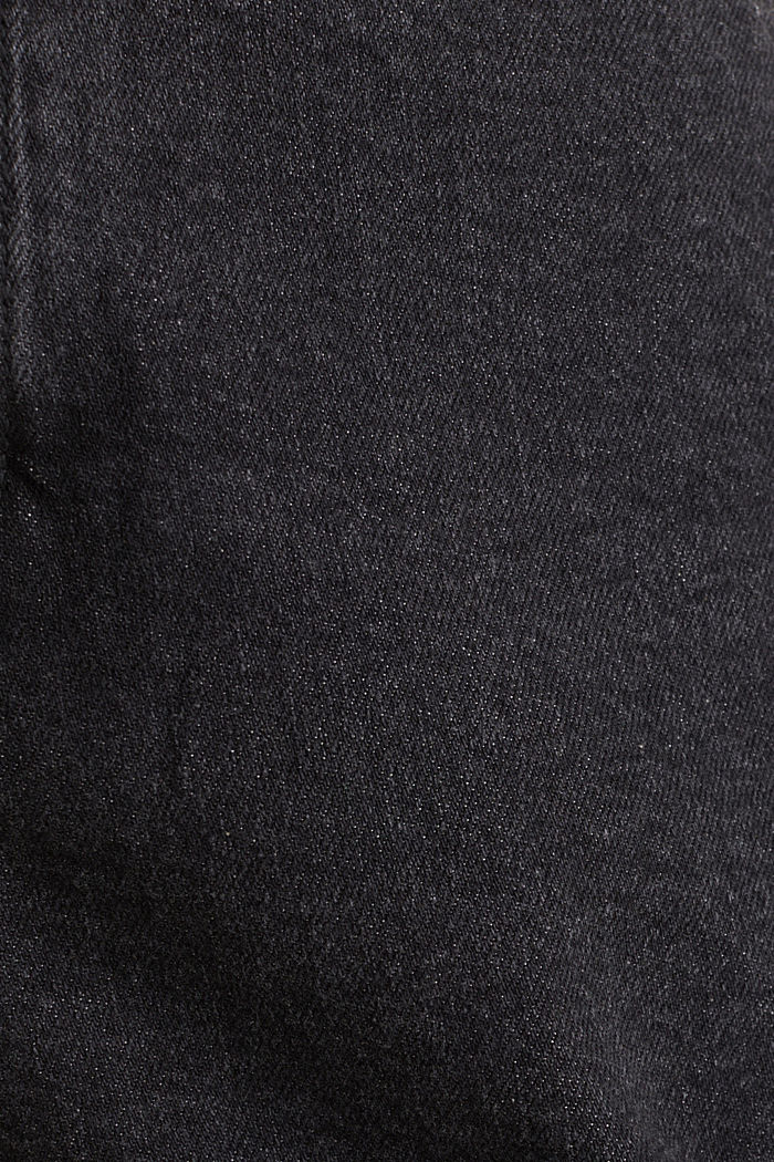 High-Waist-Shorts, Denim, BLACK MEDIUM WASHED, detail image number 4
