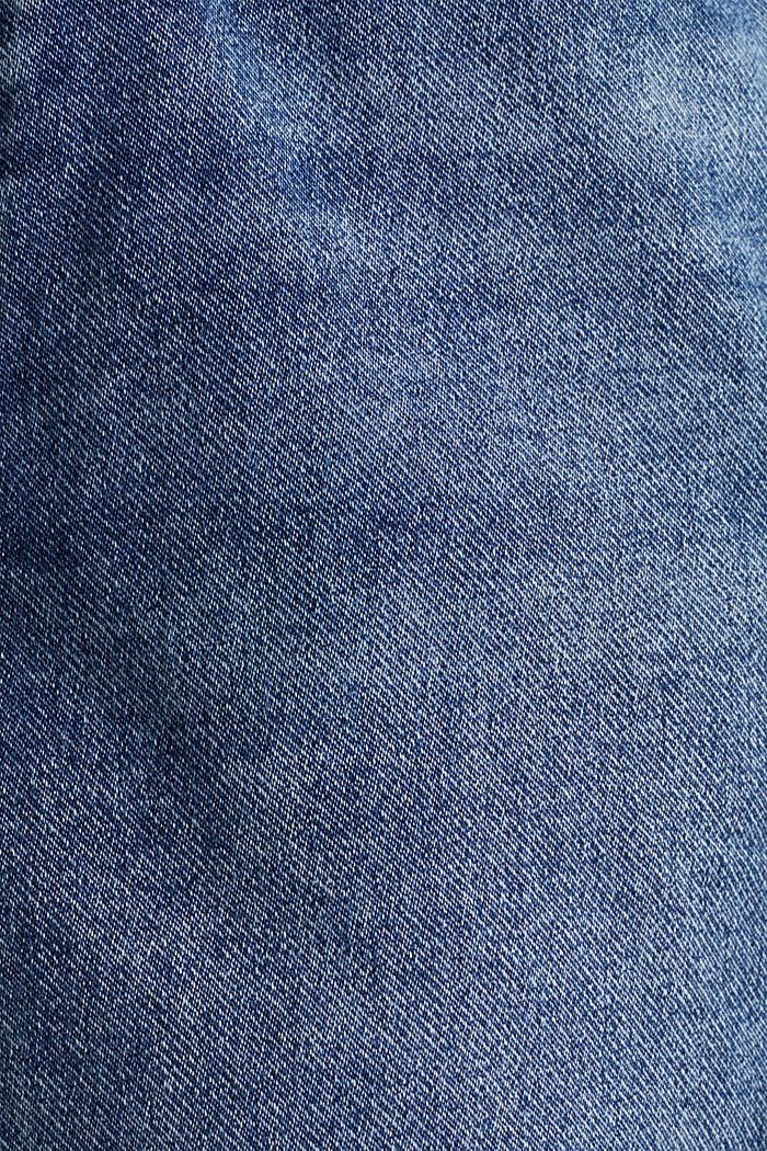 Denim-Shorts in Jogger-Qualität, BLUE DARK WASHED, detail image number 3