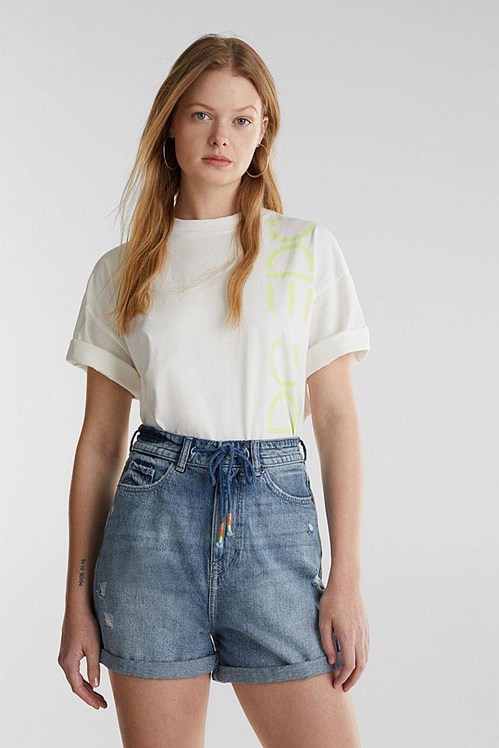 High waist short, denim