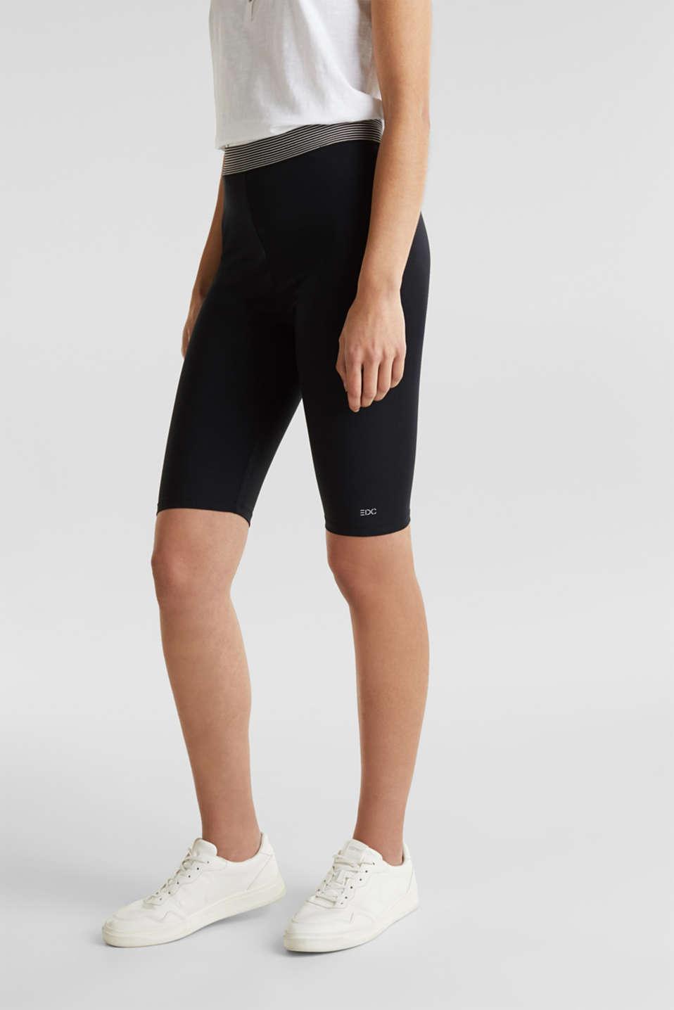 Organic cotton leggings, BLACK, detail image number 5