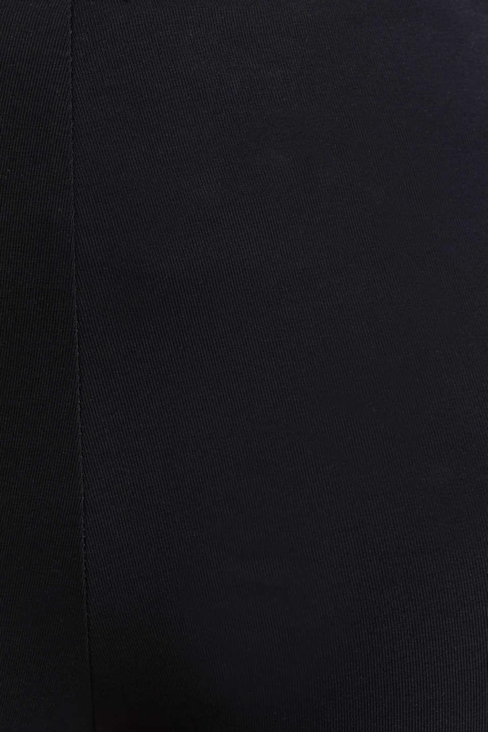 Organic cotton leggings, BLACK, detail image number 4