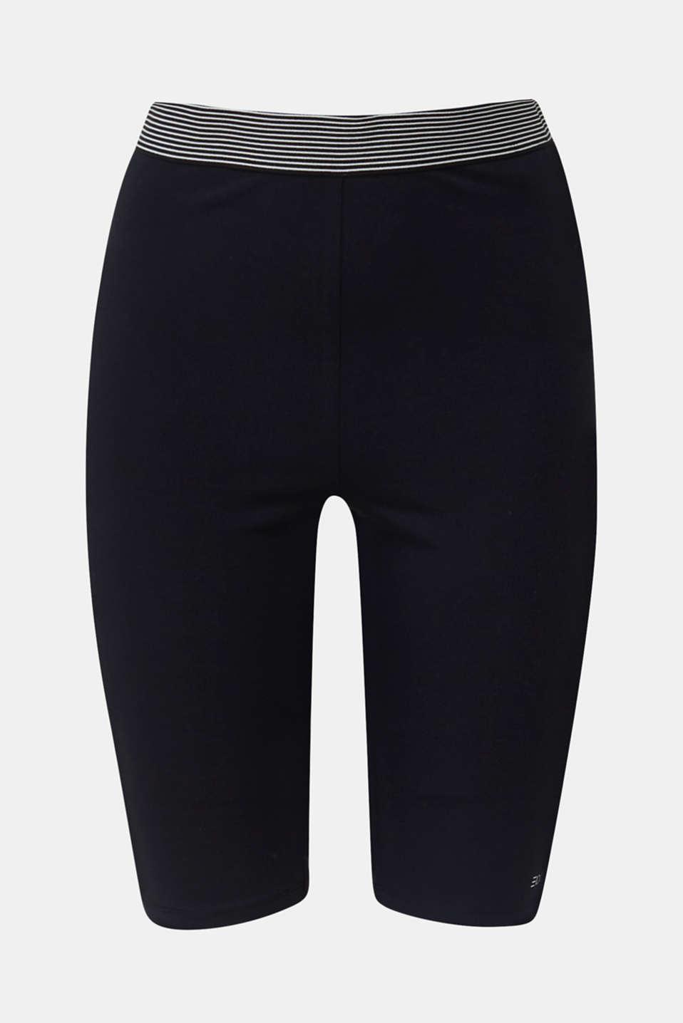 Organic cotton leggings, BLACK, detail image number 6