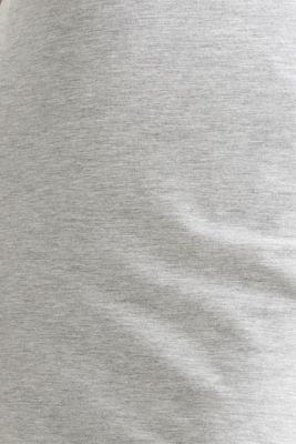 Stretch jersey skirt, LIGHT GREY 5, detail