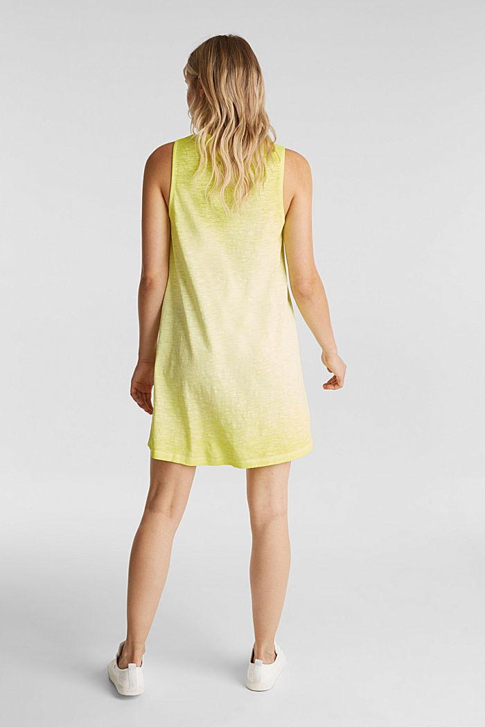 Baumwoll-Jersey-Kleid, CITRUS GREEN, detail image number 2