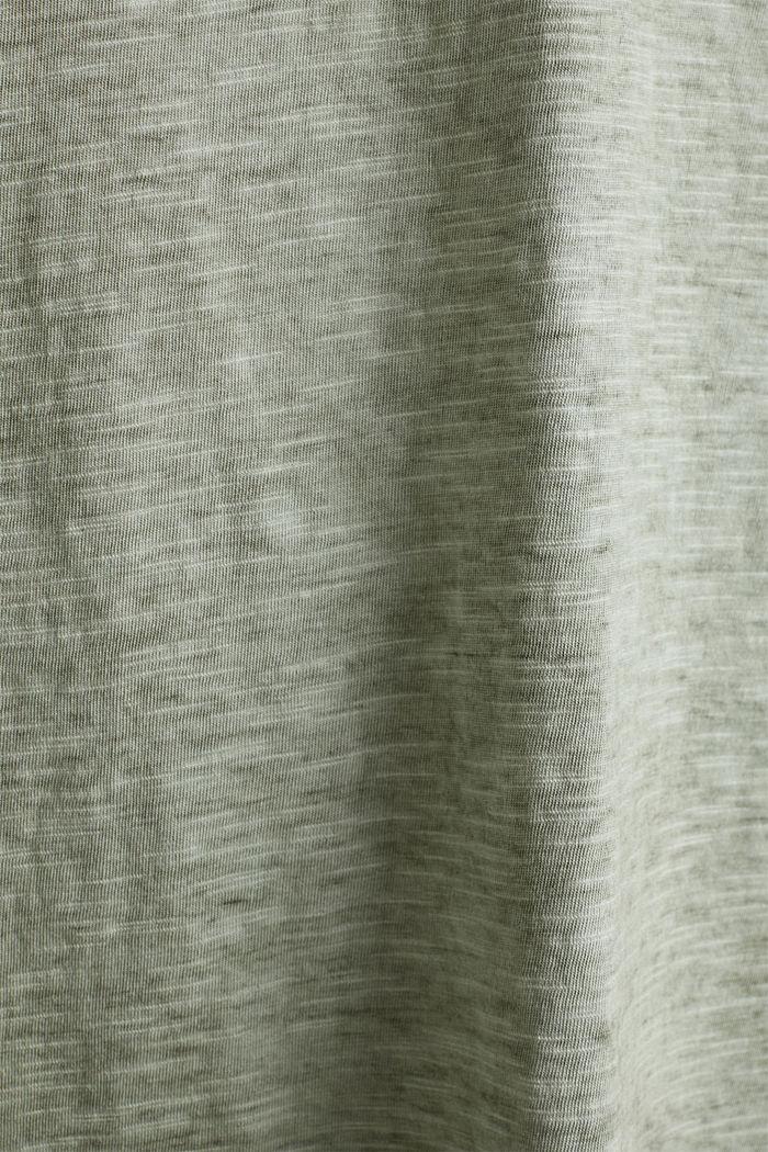 Cotton jersey dress, KHAKI GREEN, detail image number 4