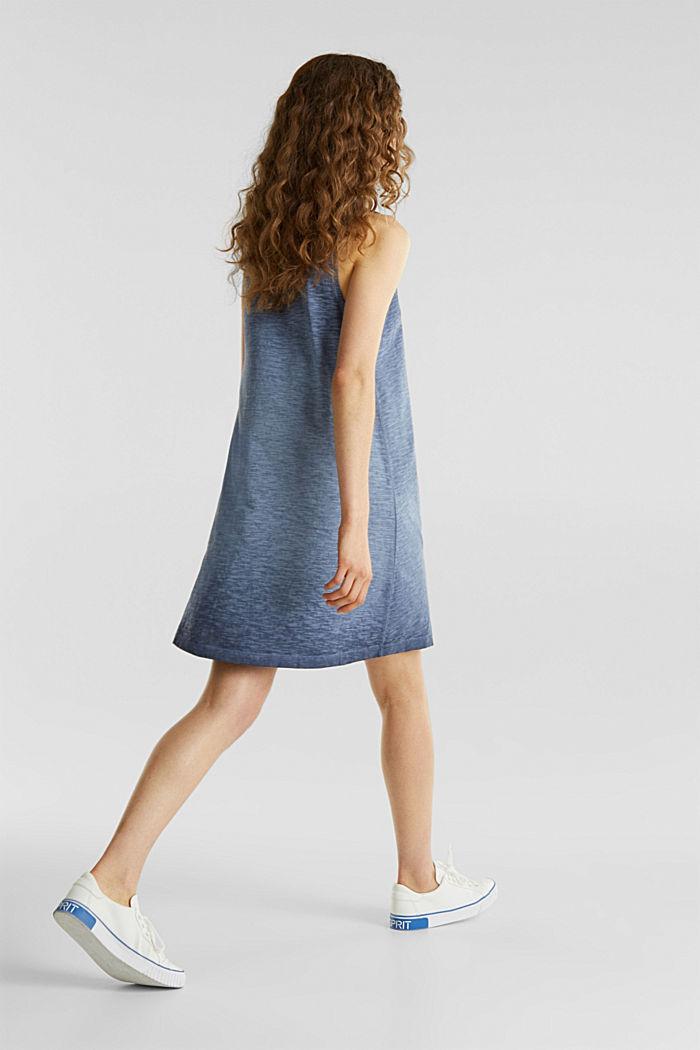 Cotton jersey dress, NAVY, detail image number 2
