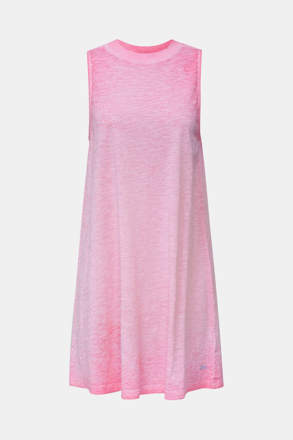 Cotton jersey dress, PINK FUCHSIA, detail image number 5