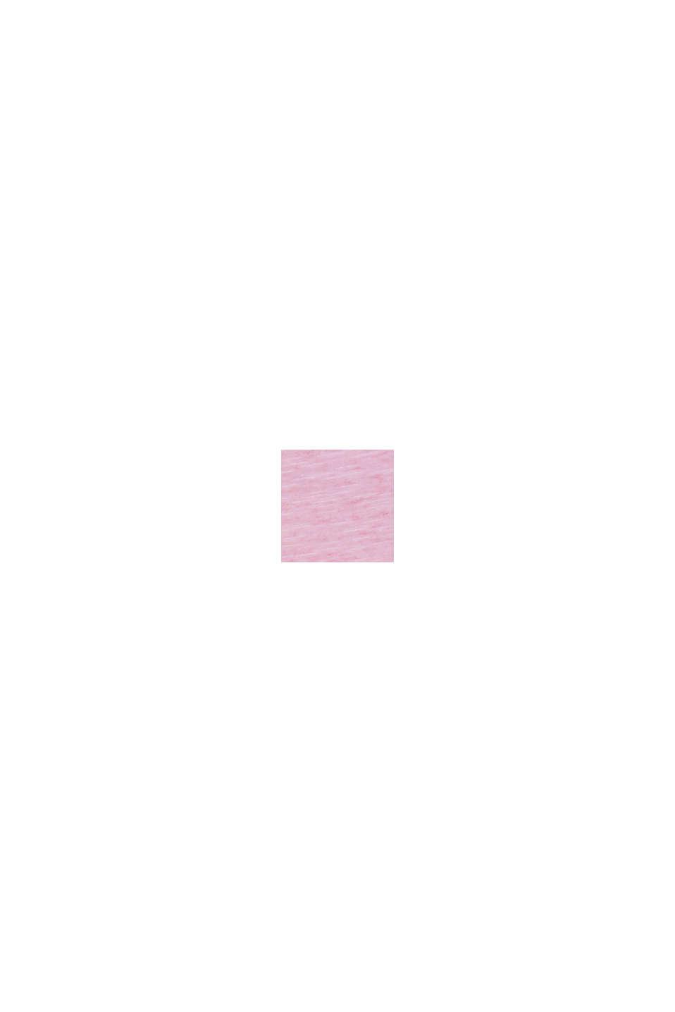 Baumwoll-Jersey-Kleid, PINK FUCHSIA, swatch