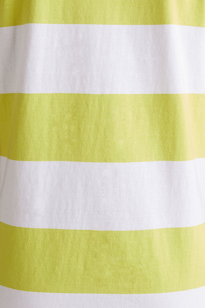 Jersey-Kleid, 100% Baumwolle, CITRUS GREEN, detail image number 4