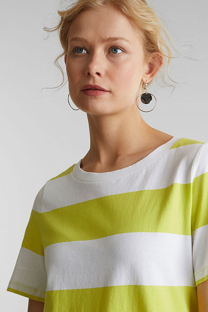 Jersey-Kleid, 100% Baumwolle, CITRUS GREEN, detail image number 5