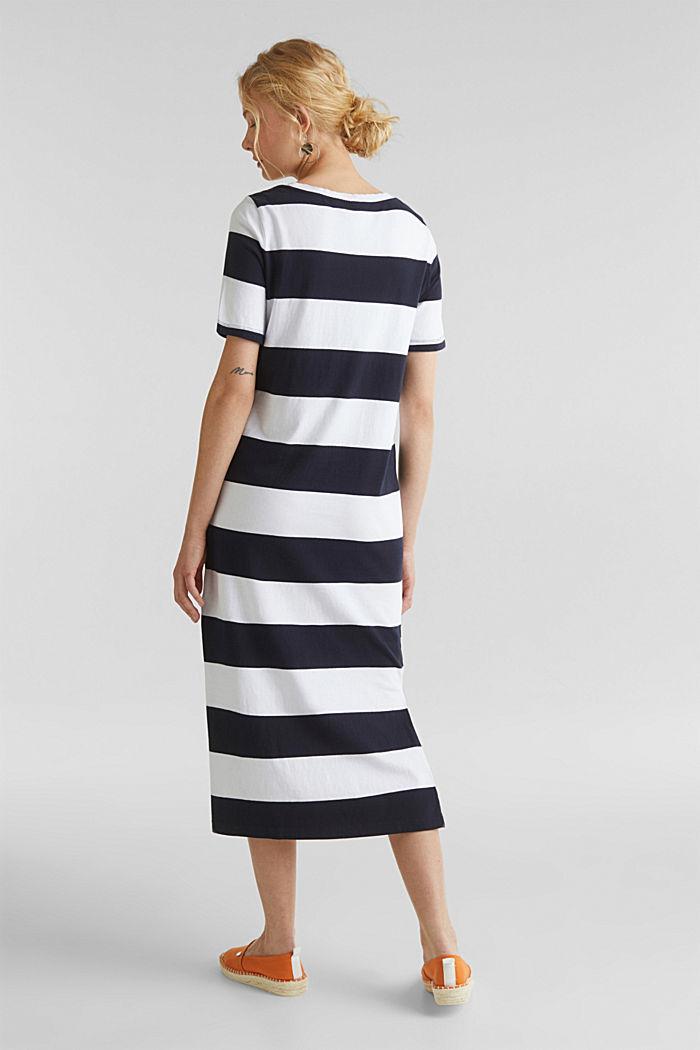 Jersey-Kleid, 100% Baumwolle, NAVY, detail image number 2