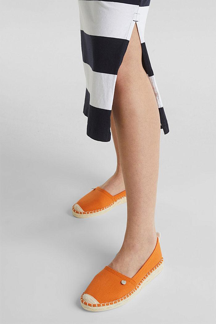 Jersey dress, 100% cotton, NAVY, detail image number 3
