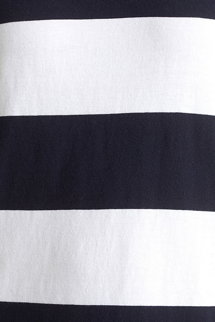Jersey dress, 100% cotton, NAVY, detail image number 4