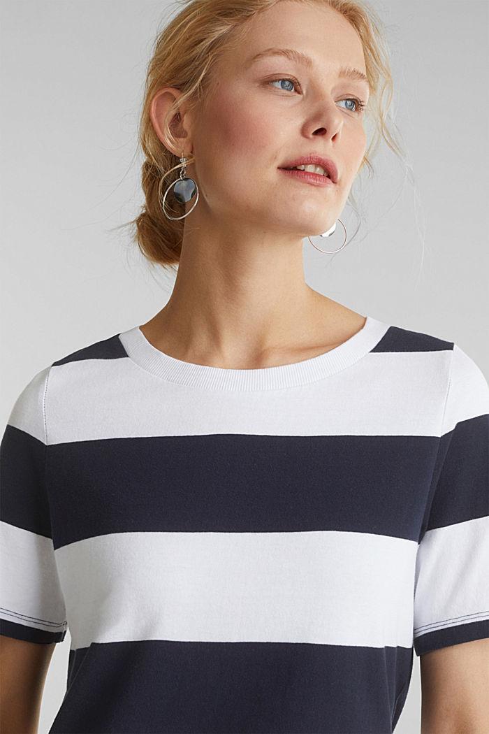 Jersey-Kleid, 100% Baumwolle, NAVY, detail image number 5