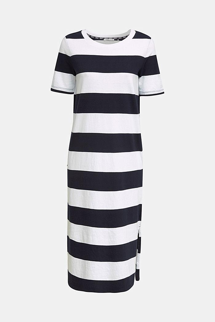 Jersey-Kleid, 100% Baumwolle, NAVY, detail image number 6