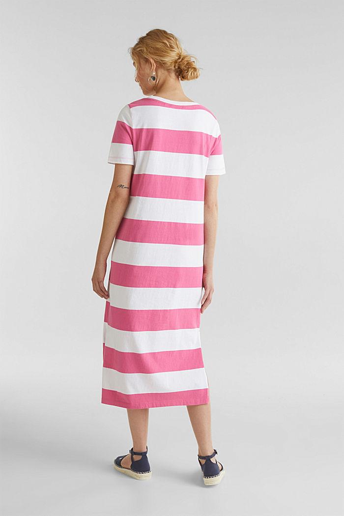 Jersey dress, 100% cotton, PINK FUCHSIA, detail image number 2