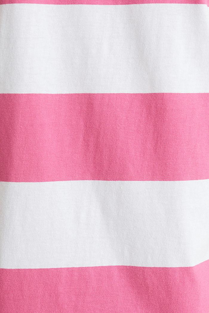 Jersey dress, 100% cotton, PINK FUCHSIA, detail image number 3