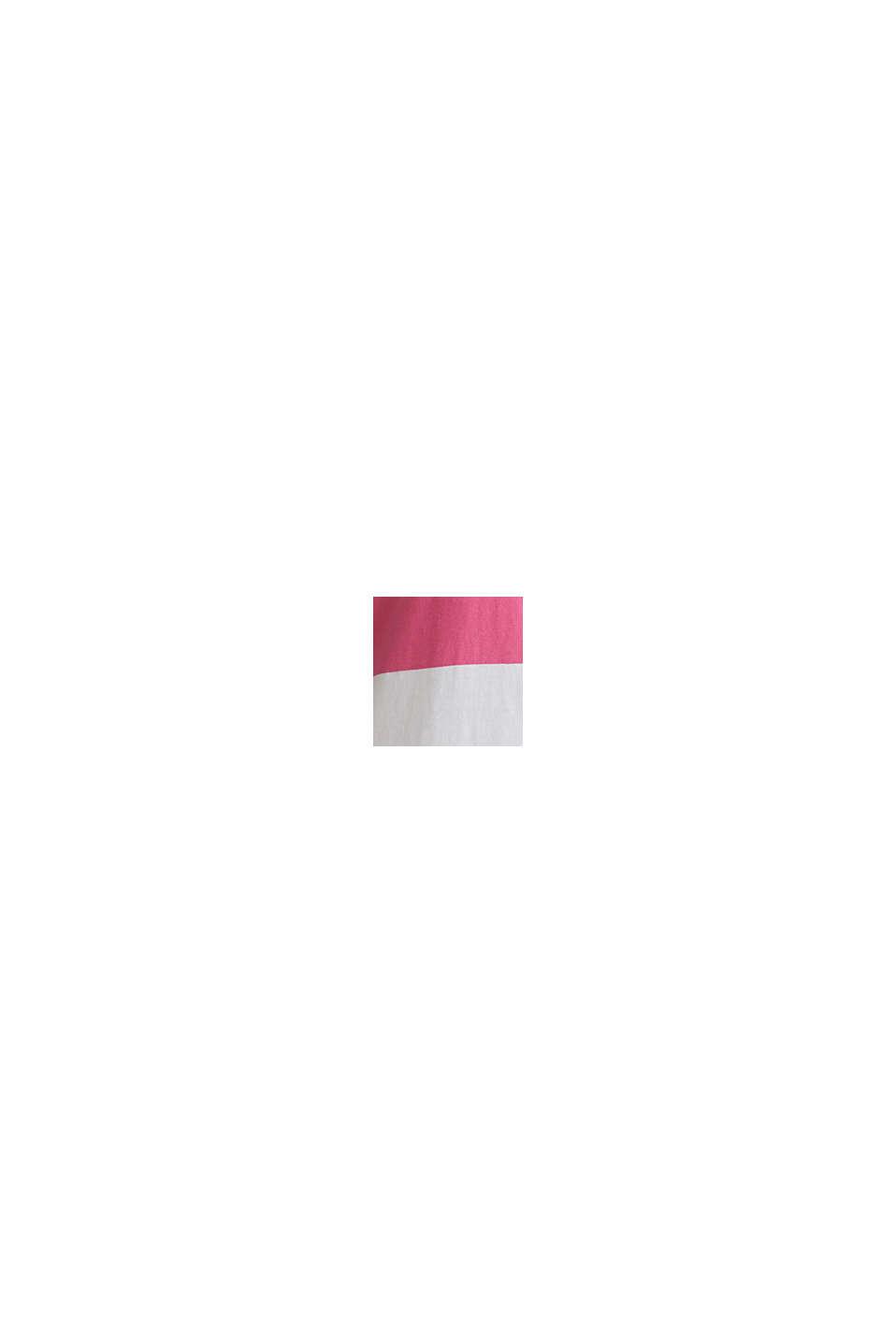 Jersey-Kleid, 100% Baumwolle, PINK FUCHSIA, swatch