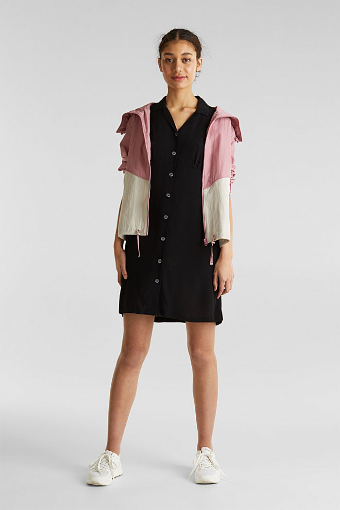 Kleid, LENZING™ ECOVERO™, BLACK, detail image number 1