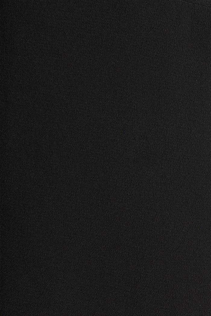 Kleid, LENZING™ ECOVERO™, BLACK, detail image number 3