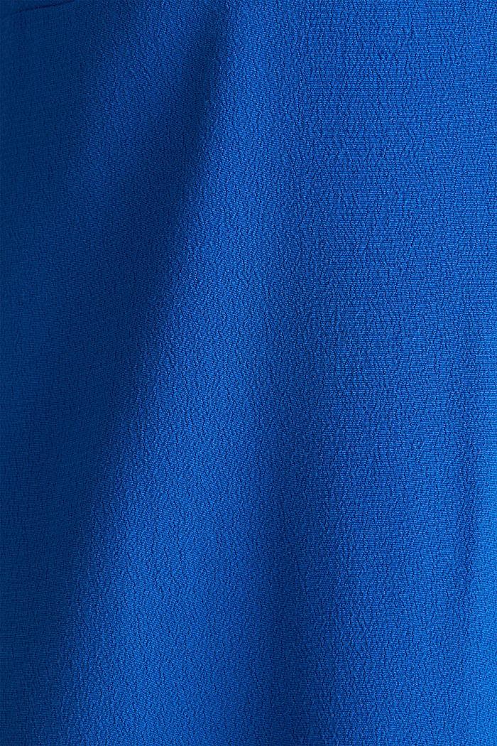 Kleid, LENZING™ ECOVERO™, BRIGHT BLUE, detail image number 4