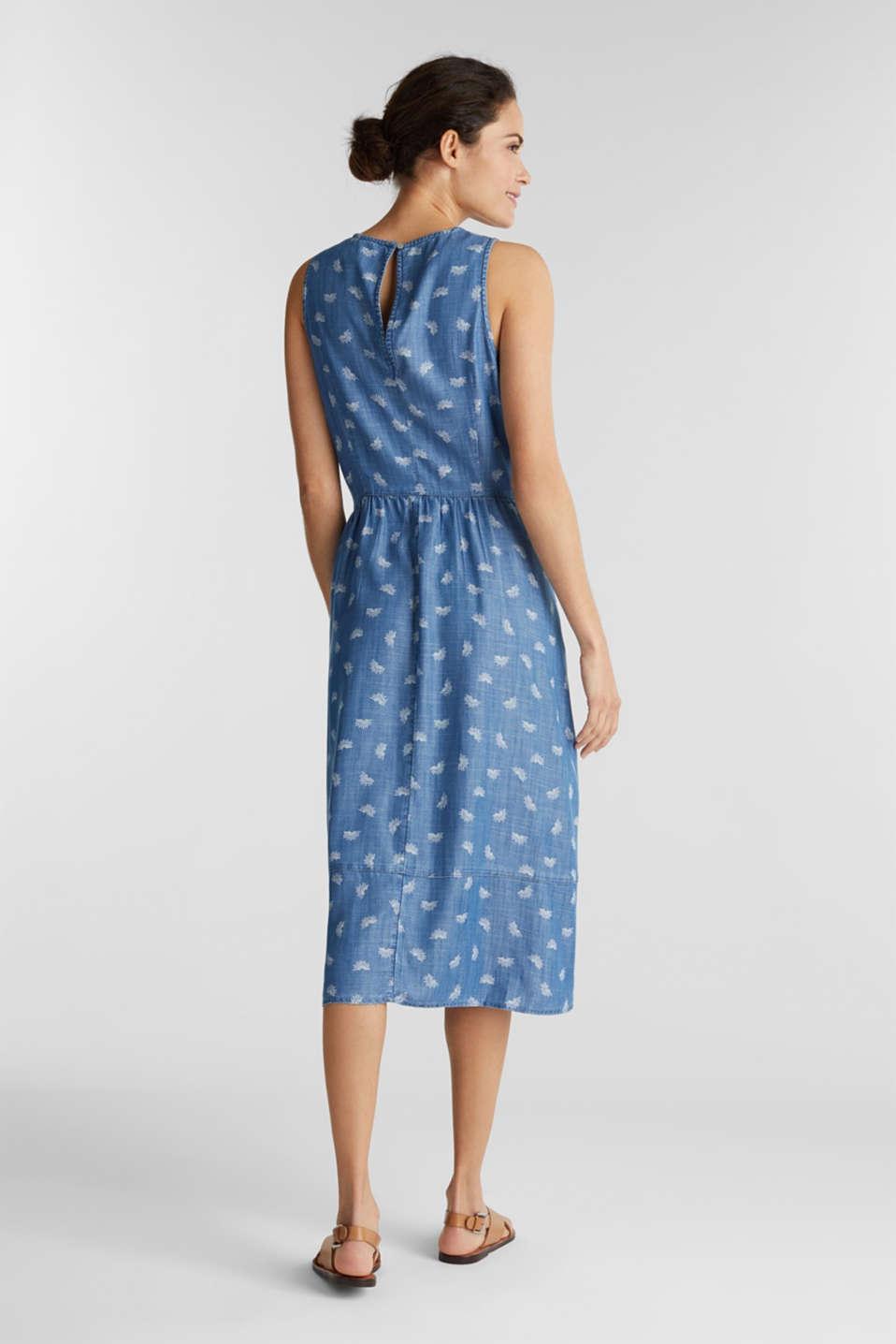 Denim dress made of lyocell, BLUE LIGHT WASH, detail image number 2