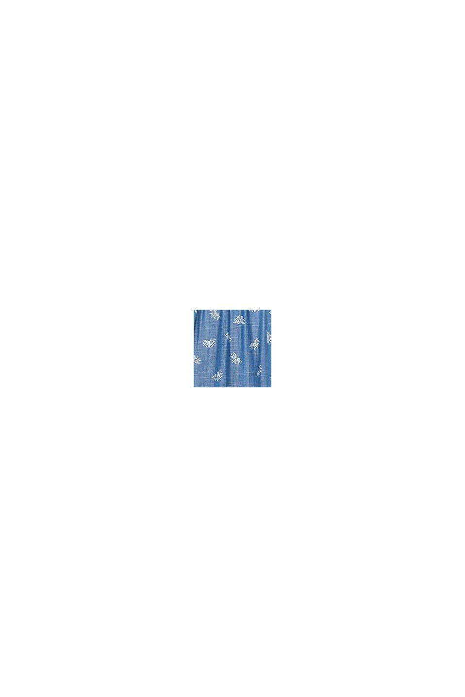 Denim-Kleid aus Lyocell, BLUE LIGHT WASHED, swatch