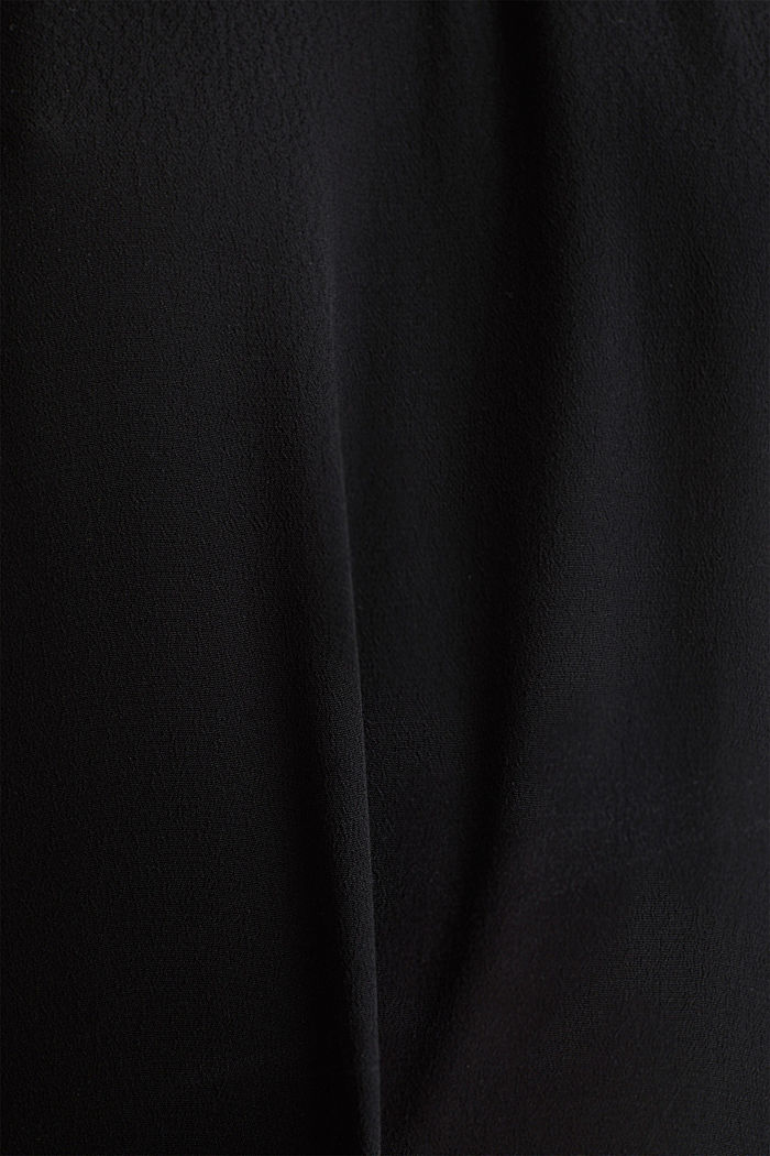 Blouse, LENZING™ ECOVERO™, BLACK, detail image number 3