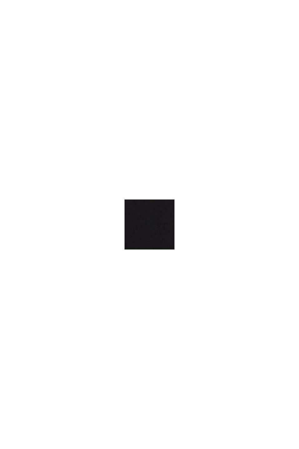Blusa, LENZING™ ECOVERO™, BLACK, swatch