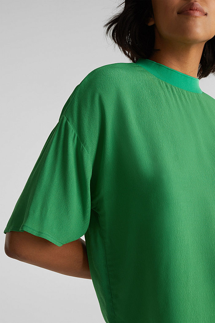 Bluse, LENZING™ ECOVERO™, GREEN, detail image number 2