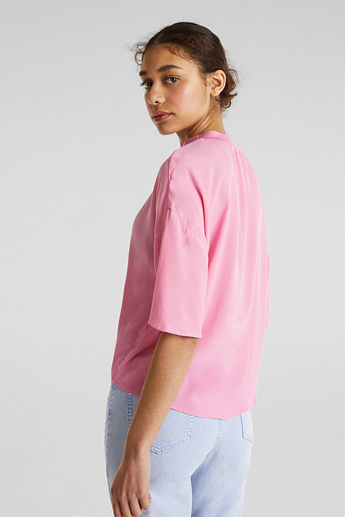 Blouse, LENZING™ ECOVERO™, PINK, detail image number 2