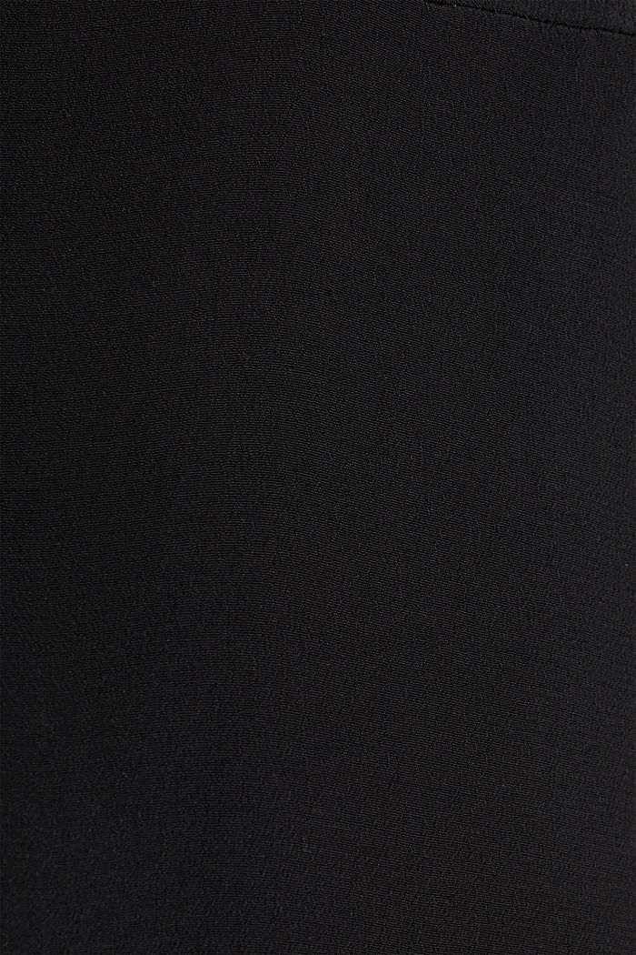 Blouse, LENZING™ ECOVERO™, BLACK, detail image number 4