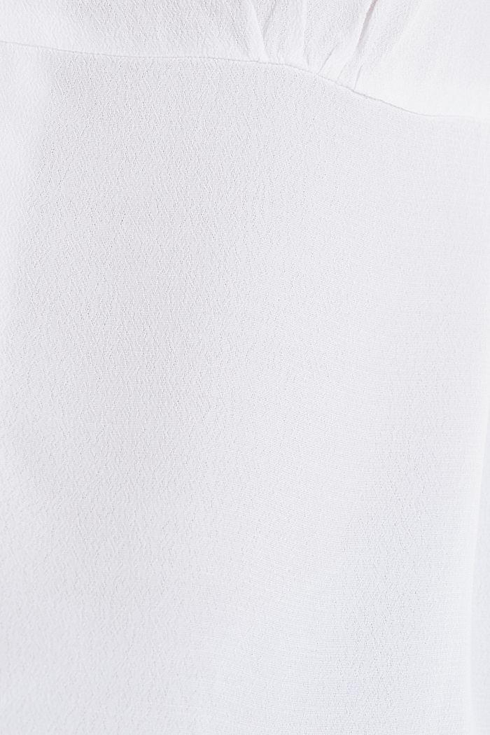 Bluse, LENZING™ ECOVERO™, WHITE, detail image number 3