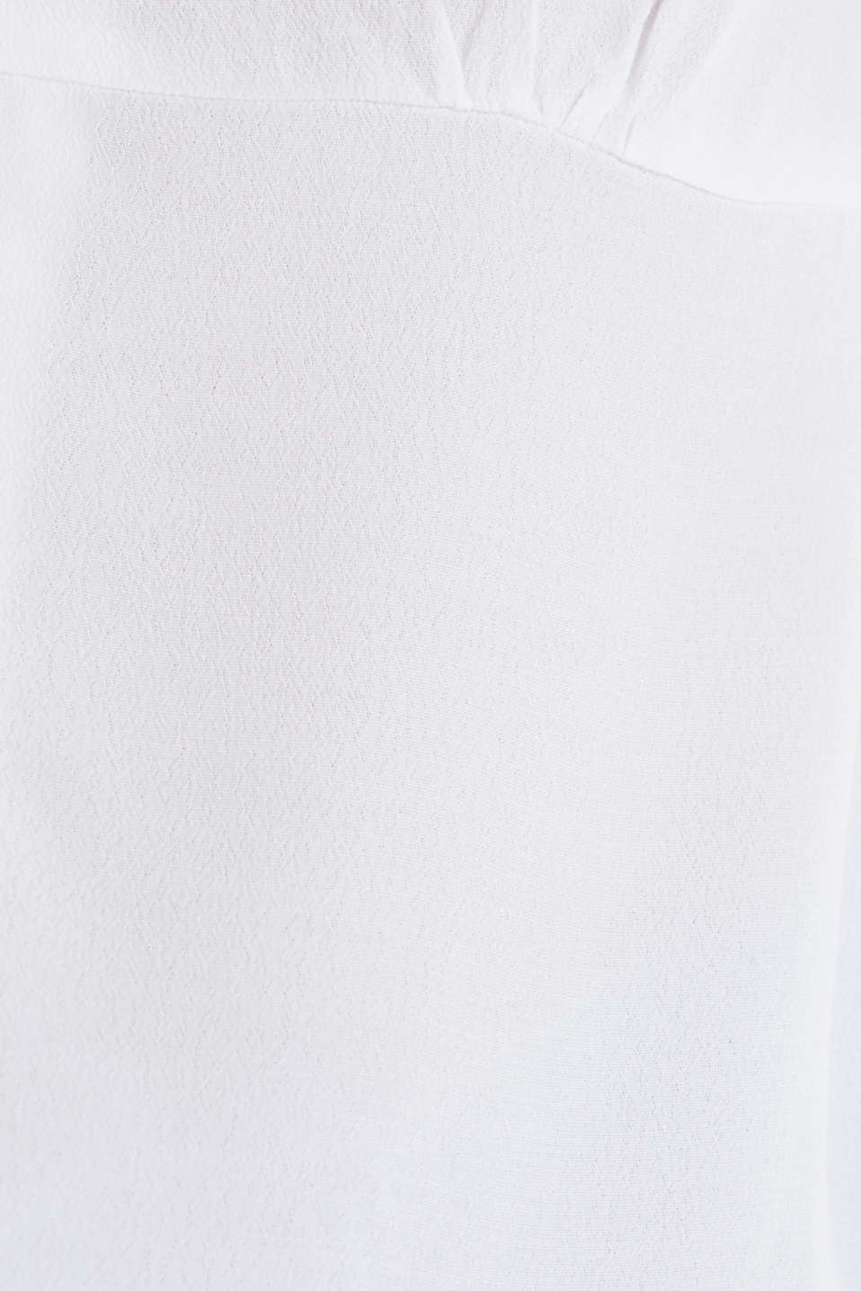 Blouse, LENZING™ ECOVERO™, WHITE, detail image number 3
