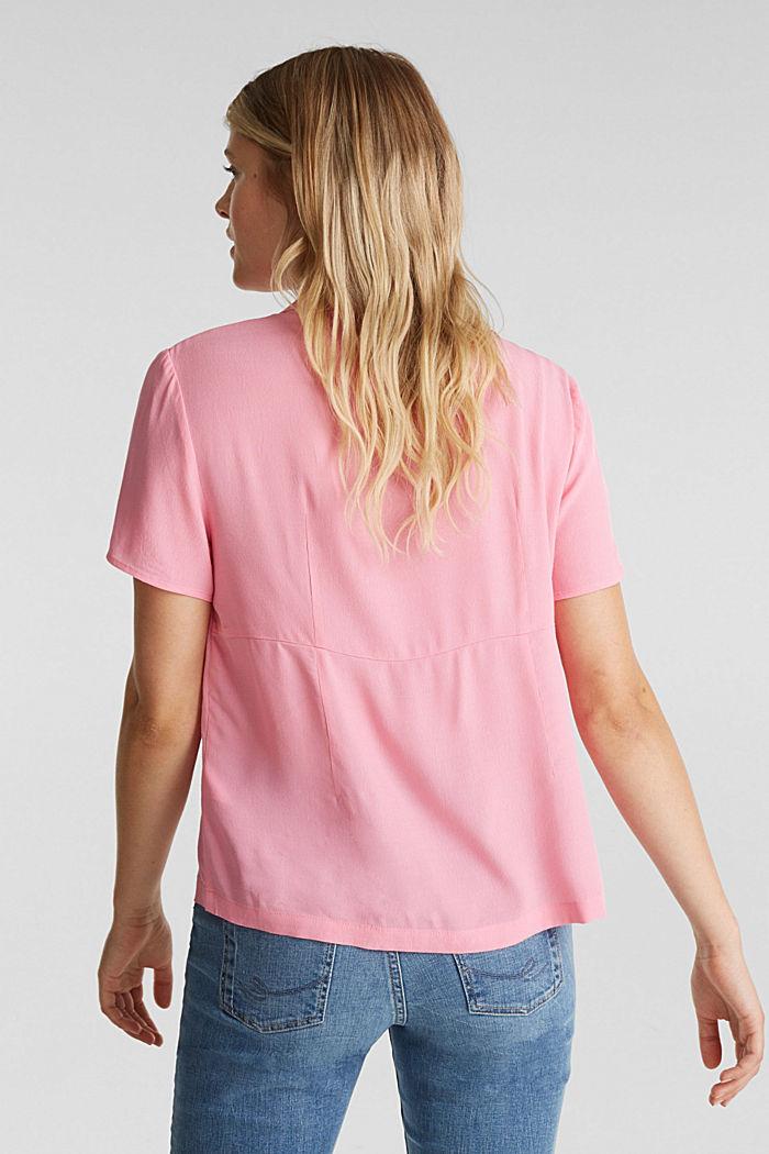 Bluse, LENZING™ ECOVERO™, PINK, detail image number 3