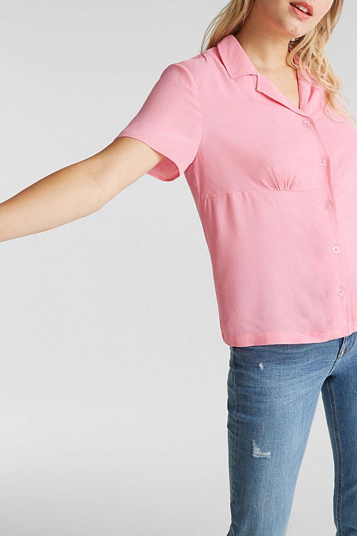 Bluse, LENZING™ ECOVERO™, PINK, detail image number 2